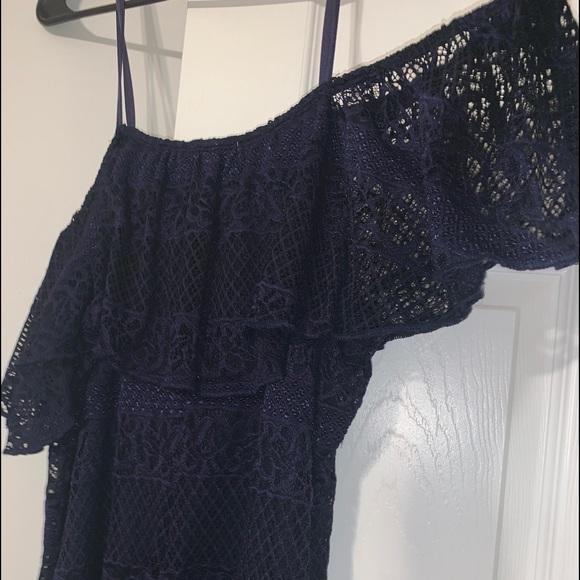 Charlotte Russe Dresses & Skirts - 💙SMOKIN Lace Off-the-shoulder Dress